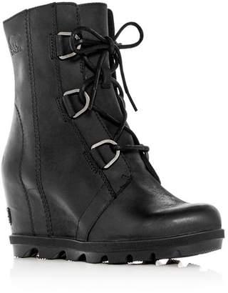 Sorel Women's Joan of Arctic II Waterproof Leather Hidden Wedge Boots