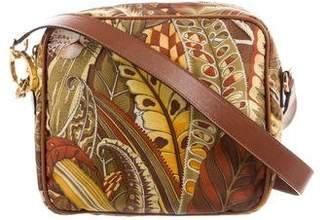 Salvatore Ferragamo Printed Nylon Shoulder Bag