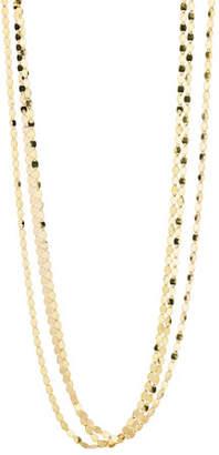 Lana Bond Short Nude Three-Strand Necklace