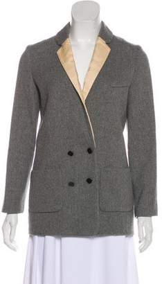 Giada Forte Wool Notch-Lapel Blazer