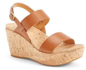 Kork-Ease 'Austin' Slingback Wedge Sandal (Women)