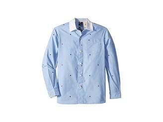 Tommy Hilfiger Adaptive Magnetic Button Shirt (Little Kids/Big Kids)Shirt
