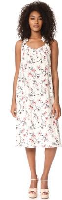 J.O.A. Flower Print Maxi Dress $110 thestylecure.com