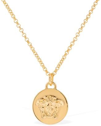 Versace Medusa Coin Necklace