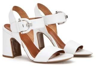 Aquatalia Naya Leather Slingback Heel