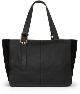 Vince Camuto Cali Suede-gusset Tote