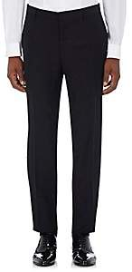 Barneys New York Burberry X Men's Mohair-Wool Embellished Tuxedo Trousers-Black