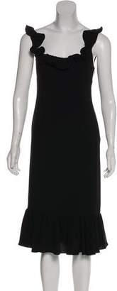 Cinq à Sept Sleeveless Midi Dress