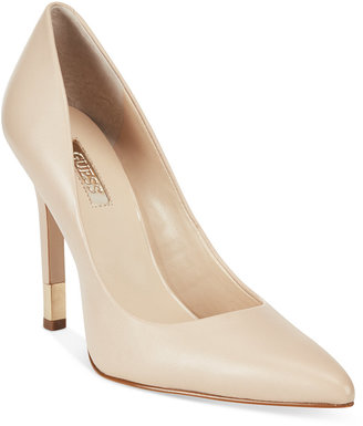 GUESS Women's Babbitta Pointed-Toe Pumps $99 thestylecure.com
