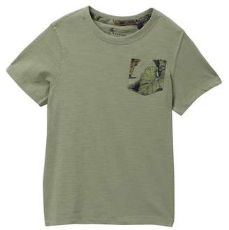 Tailor Vintage Short Sleeve Pocket Tee (Toddler Boys)