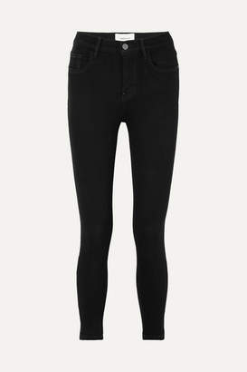 Current/Elliott Stiletto High-rise Skinny Jeans - Black