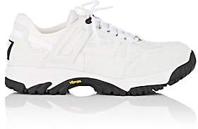 Maison Margiela Men's Lug-Sole Suede & Mesh Sneakers-White