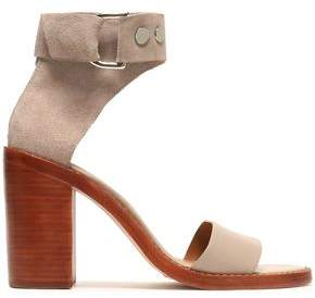 Zimmermann Suede And Leather Sandals