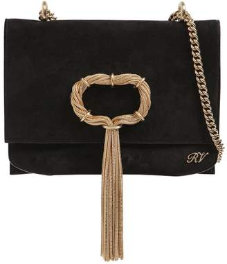 Roger Vivier Chain Buckle Evening Bag