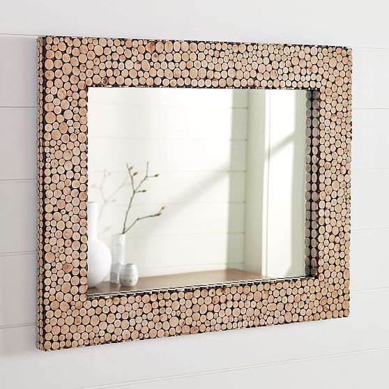 Cut-Twig Wall Mirror