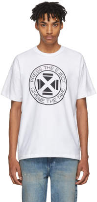 Midnight Studios White Press The Eject T-Shirt