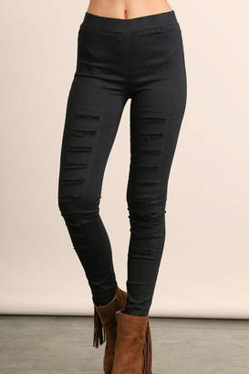 Umgee USA Colorful Distressed Jeggings