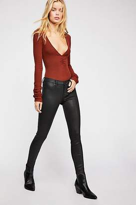 Blank NYC Spartacus Coated Skinny Jeans