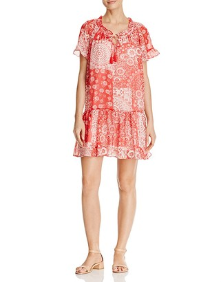 Beltaine Printed Peasant Dress $178 thestylecure.com