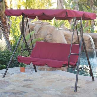 Belleze Canopy Porch Swing with Stand Cushion