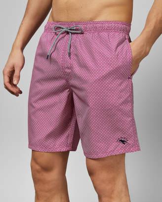 4a9b098d4e Ted Baker ALANTIC Geo print midi swim shorts