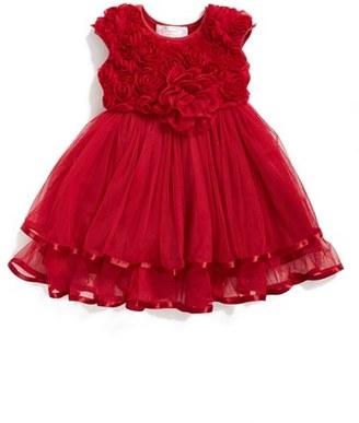 Infant Girl's Popatu Rosette Tulle Dress $32 thestylecure.com