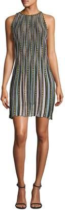 M Missoni Bubble Knit Shift Dress