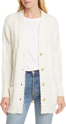 Allude Cable Knit Cardigan