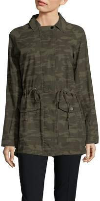 Sanctuary Women's Camouflage Field Jacket