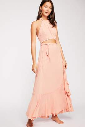 7073834122 The Endless Summer Bring On The Heat Maxi Dress
