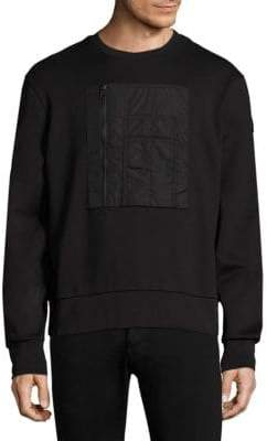 Moncler Roundneck Patch Sweatshirt