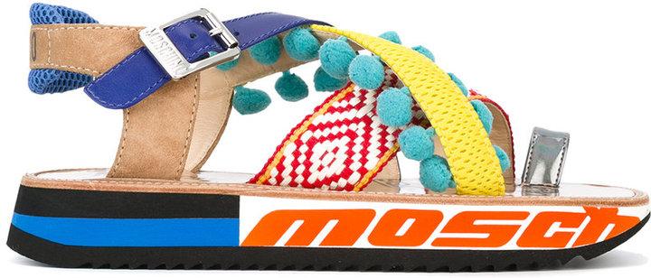 MoschinoMoschino strappy platform sandals