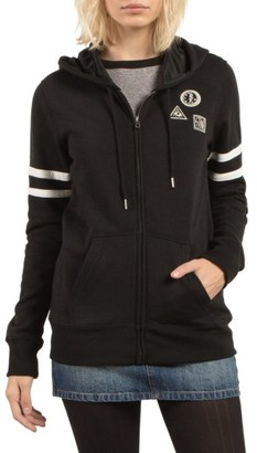 Women's Volcom Past Is Past Zip Hoodie $55 thestylecure.com