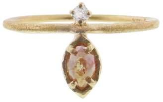 Yasuko Azuma Rustic Diamond Drop Ring