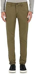 Rag & Bone Men's Fit 1 Standard Issue Stretch-Cotton Chinos - Olive