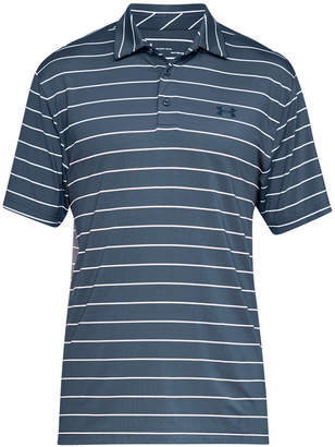Under Armour Men Playoff Performance Color Blocked Golf Polo