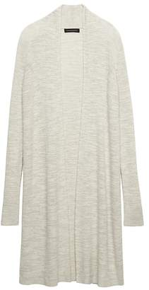 Banana Republic Merino Blend Ribbed Long Cardigan Sweater