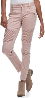 Tinseltown Juniors' Moto Skinny Pants