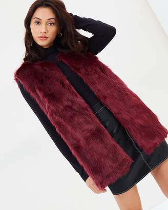 Missguided Ultimate Faux Fur Gilet