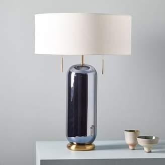 west elm Ellipse Glass Table Lamp