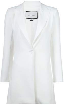 Alexis longline single-breasted blazer