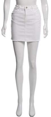 J Brand Lela Pencil Mini Skirt