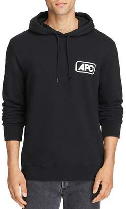 A.P.C. Jane Small Box Logo Hooded Sweatshirt