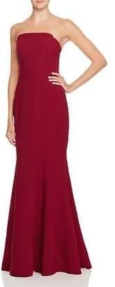 Jill Stuart Strapless Deco-Detail Gown - 100% Exclusive