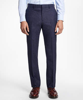Brooks Brothers Checked Wool Trousers