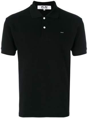 Comme des Garcons embroidered logo polo shirt