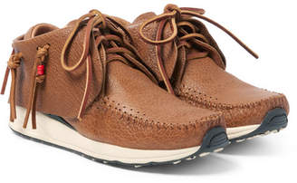 Visvim FBT Full-Grain Leather Sneakers - Brown