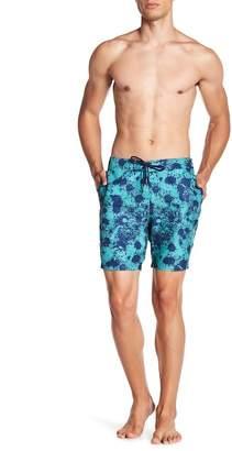 BEACH BROS Splatter Print Boardshorts