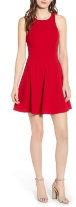 Love, Nickie Lew Racerback Fit & Flare Dress