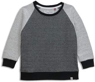Sovereign Code Boys' French Terry Herringbone Raglan Sweatshirt